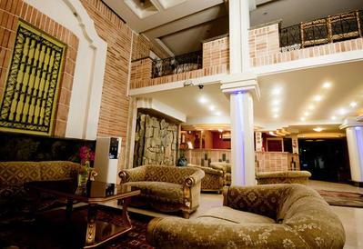 Iran hotel lobby Djoser