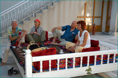 Oezbekistan accommodatie overnachting Djoser