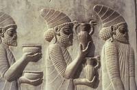 Persepolis relief Iran Djoser
