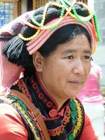 Lokale Vrouw Dali China Groepsreis Junior