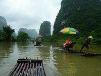 Vlottentocht Li-rivier Yangshuo China Groepsreis Junior