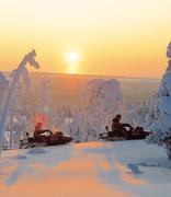 Sneeuwscooter Finland
