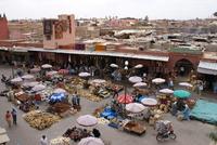 Marrakech plein Marokko