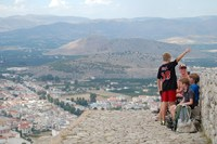 Nafplion Griekenland Djoser Junior Uitzicht