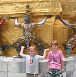 Thailand Bangkok Tempel Family Djoser