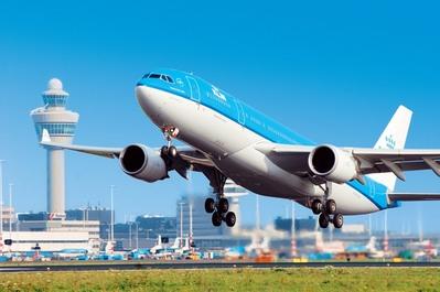 vliegtuig KLM Verenigde staten DJoser
