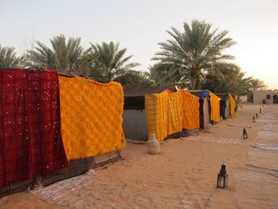 Marokko bedoeïne kamp Djoser