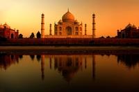 Tah Mahal avond India