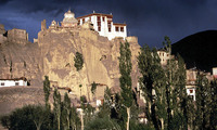 India en Ladakh Lamayuru klooster Djoser