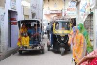 Straatbeeld Delhi India Djoser