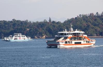 Ferry Miyajima Hiroshima Japan Djoser
