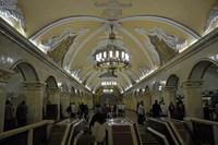 Metrostation Moskou Trans Siberië express Djoser