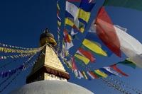 Bodnath stoepa Kathmandu Nepal