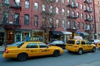 yellow cab new york usa