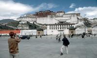Potala paleis Lhasa Chin en Tibet Djoser