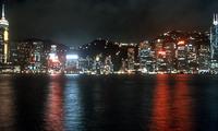 Hongkong bij nacht China Djoser