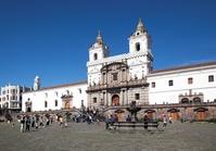 Kathadraal Quito Ecuador