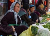 Markt Leh Ladakh India Djoser