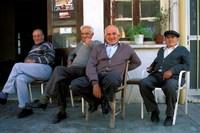 Djoser - Cyprus - Pafos - koffie drinken