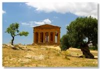 Italie Tempel Agrigento Sicilie Djoser