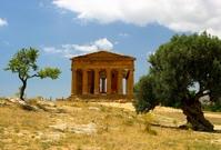 Agrigento Sicilië Italië