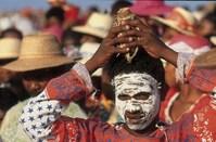 Madagaskar Ile Sainte Marie marktvrouw Djoser