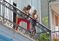 Cuba Havana balkon