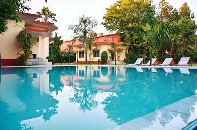 Zwembad Ankur Resort Ranthambore NP India Djoser