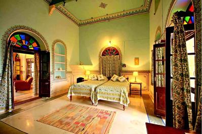 Bijay Niwas Palace kamer Bijaynagar India Djoser