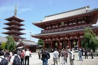 Senso-ji tempel Tokyo Japan Djoser