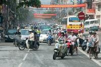 Vietnam straatbeeld Saigon Djoser
