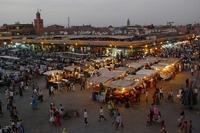 Djemaa el-Fna Plein Marrakech
