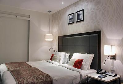 Kamer hotel Sahil, Mumbai India Djoser