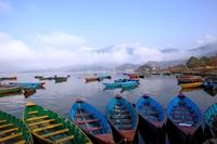 Phewa meer Pokhara Nepal Djoser