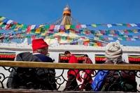 Kathmandu Nepal Wandel Fiets Djoser