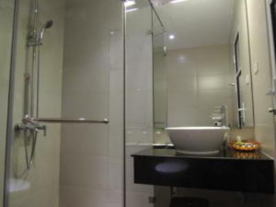 Thang Long Espana Hotel badkamer, Hanoi Djoser kookreis Vietnam
