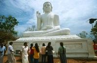 Ziitende Boeddha Polonnaruwa Sri Lanka Djoser