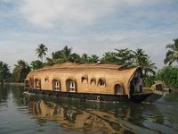 Rijstboottocht Kerala Allepey India Djoser