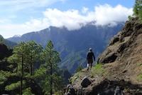 La Palma wandelaar berg Djoser
