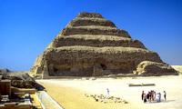 Djoser piramide Egypte