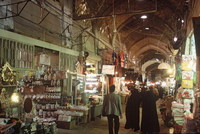 Bazaar Kerman Iran Djoser