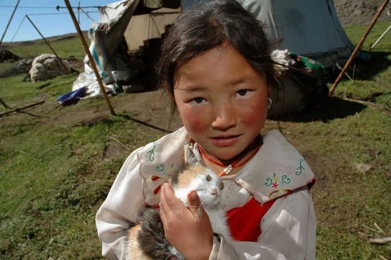 27 Meisje Tibet