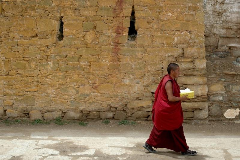 37 Monnik Tibet
