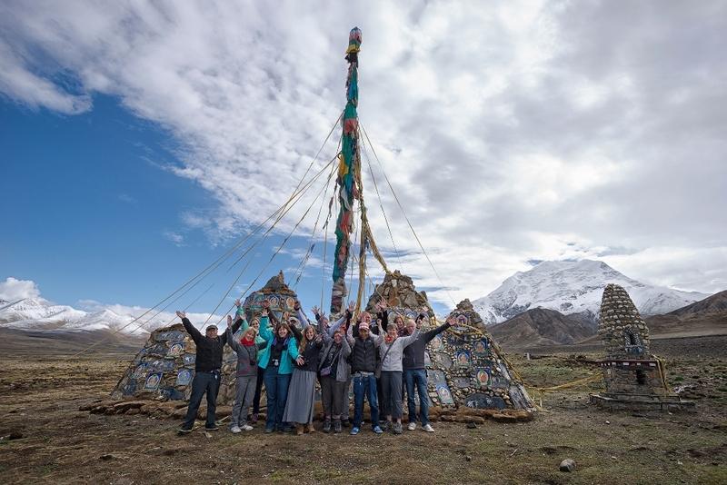 24 Tibet gebedsstenen