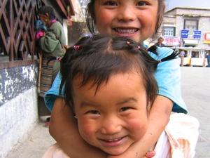 45 kinderen Tibet