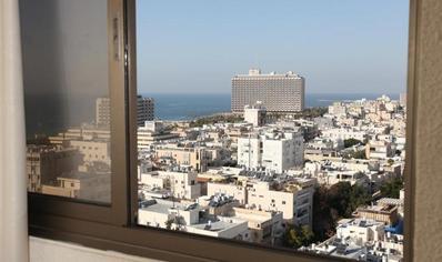 Uitzicht Tel Aviv Israel Djoser