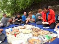 Wandelvakantie Marokko lunch bergen