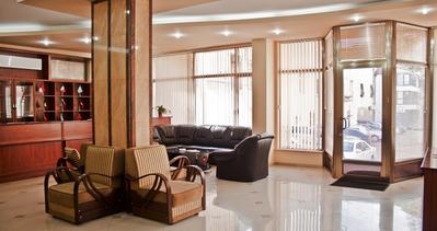 Armenie en Georgie hotel lobby accommodatie Djoser