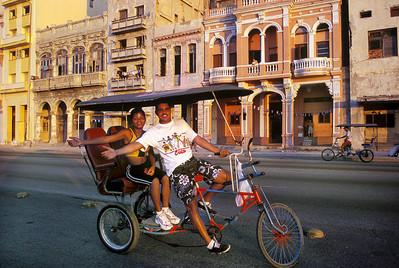 Camaguey, fietstaxi