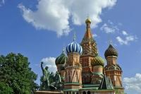 Moskou Basiliuskathedraal Rode Plein Rusland Djoser